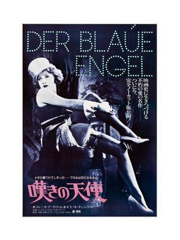 The Blue Angel Art Print