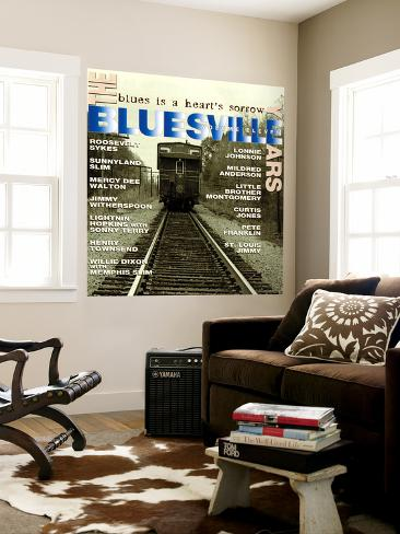 The Bluesville Years: Blues is a Heart's Sorrow, Vol. 11 Wall Mural