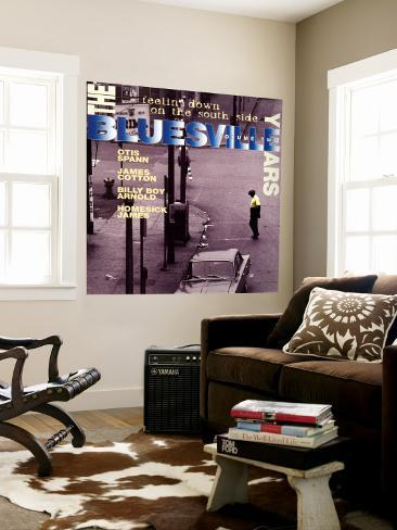 The Bluesville Years: Vol 2: Feelin' Down on the South Side Wall Mural