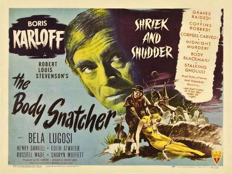 The Body Snatcher, 1945 Art Print