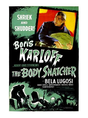 The Body Snatcher, Boris Karloff, 1945 Fotografia