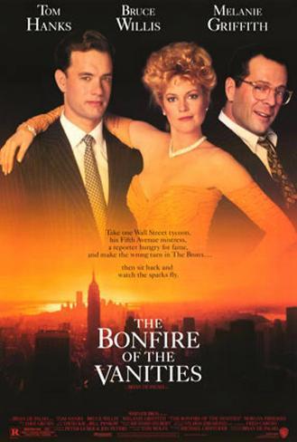The Bonfire of the Vanities Original Poster