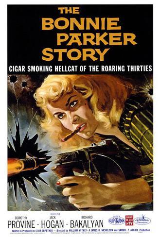 The Bonnie Parker Story Poster