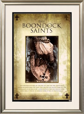 The Boondock Saints Framed Poster