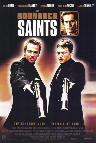 The Boondock Saints Masterprint
