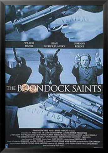 The Boondock Saints Lamina Framed Poster