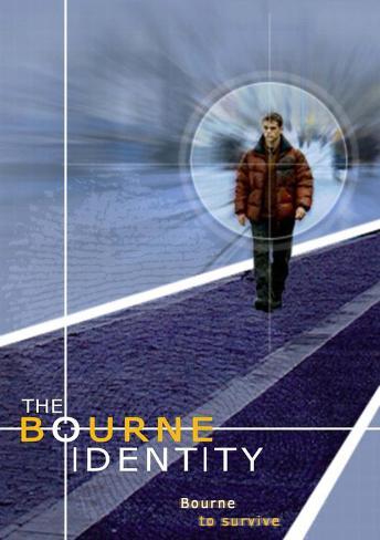 The Bourne Identity マスタープリント
