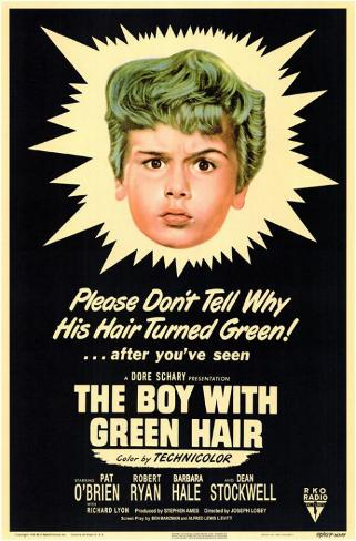 The Boy With The Green Hair Masterprint