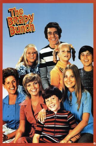 The Brady Bunch Poster