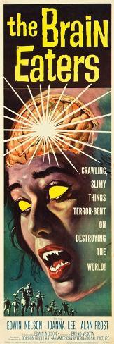 The Brain Eaters, insert poster, 1958 Art Print