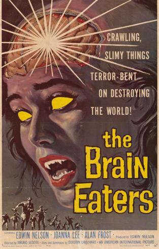 The Brain Eaters Masterprint