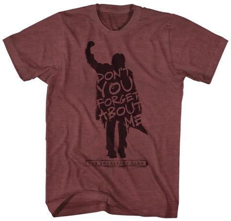 The Breakfast Club- Don't Forget About Me Profile T-Shirt
