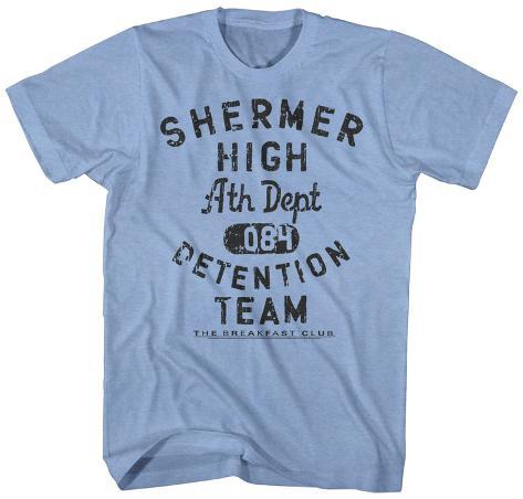 The Breakfast Club- Shermer High Detention Team T-Shirt