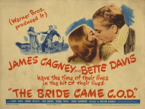 The Bride Came C.O.D., 1941 Art Print