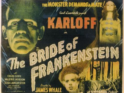 The Bride of Frankenstein, 1935 Premium Giclee Print
