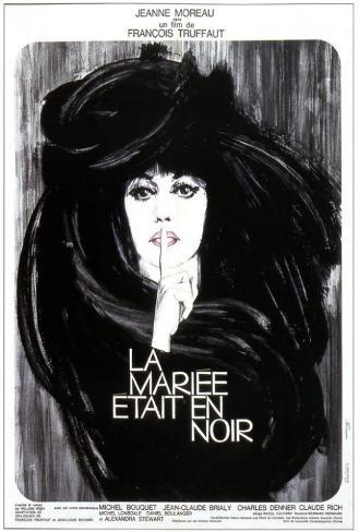 The Bride Wore Black - French Style Poster