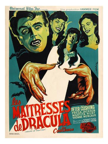 The Brides of Dracula (AKA Les Maitresses De Dracula), 1960 Foto