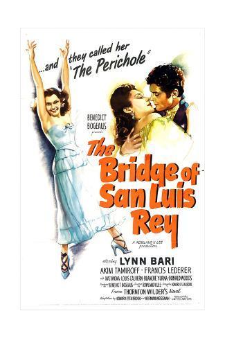 The Bridge of San Luis Rey, Lynn Bari, Francis Lederer, 1944 Impressão artística