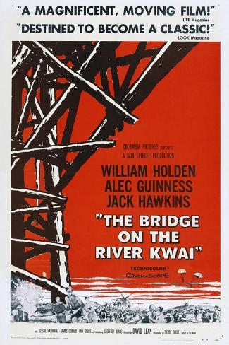 The Bridge On the River Kwai, 1957, Directed by David Lean Giclee Print