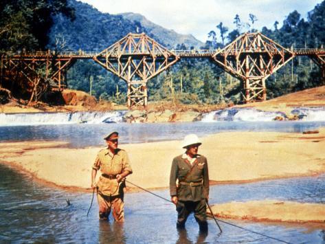 The Bridge On The River Kwai, Alec Guinness, Sessue Hayakawa, 1957 Photo