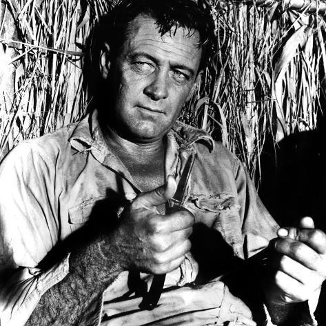 The Bridge on the River Kwai, William Holden, 1957 Photo