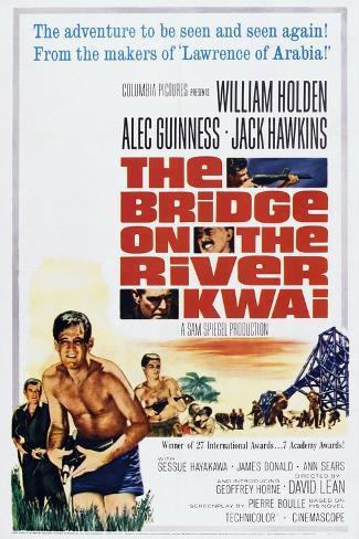 The Bridge on the River Kwai Art Print