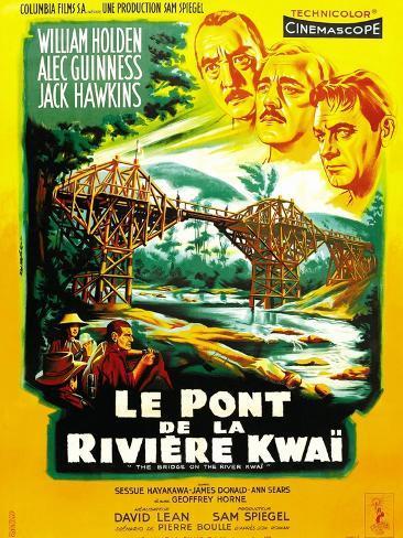 The Bridge on the River Kwai Konstprint