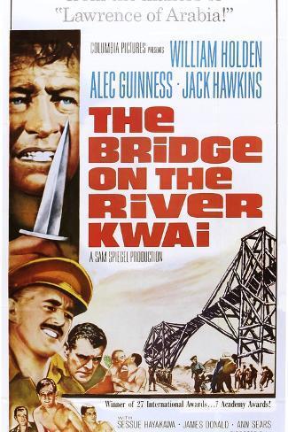 The Bridge on the River Kwai Impressão artística