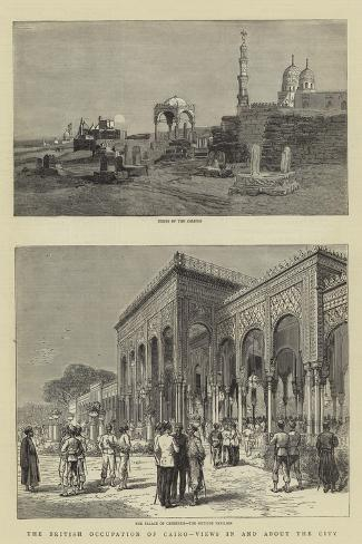 The British Occupation of Cairo, Views in and About the City Giclee Print