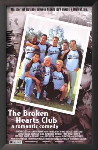 The Broken Hearts Club Framed Art Print