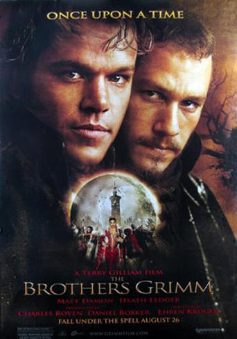 The Brothers Grimm Double-sided poster