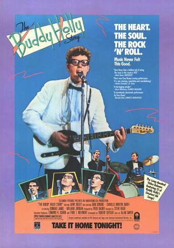 The Buddy Holly Story Masterprint