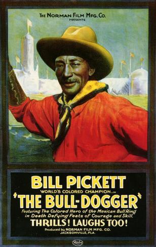 The Bull Dogger Impressão original