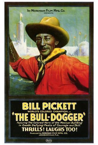 The Bull Dogger Poster