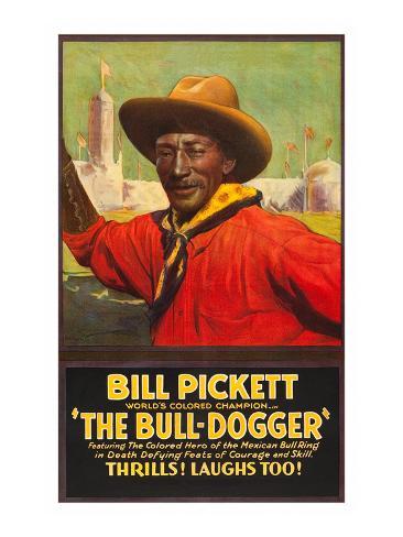 The Bull - Dogger Art Print