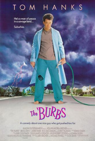 The Burbs Póster