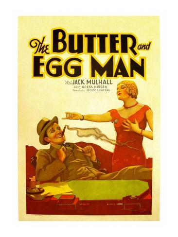 The Butter and Egg Man Konstprint