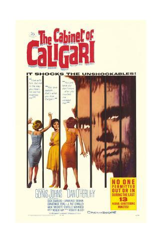 The Cabinet of Caligari Art Print