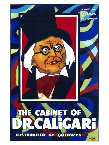 The Cabinet of Dr. Caligari, 1919 Art Print