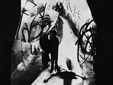 The Cabinet of Dr. Caligari, 1920 Photographic Print