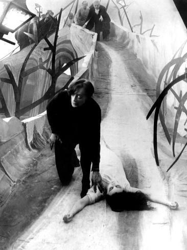The Cabinet of Dr. Caligari, Conrad Veidt, Lil Dagover, 1920 Photo