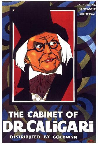 The Cabinet of Dr Caligari Movie Werner Krauss Conrad Veidt Poster Print Poster