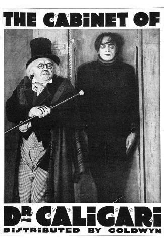 The Cabinet of Dr Caligari Movie Werner Krauss Poster Print Poster