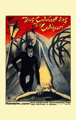 The Cabinet of Dr. Caligari Masterprint