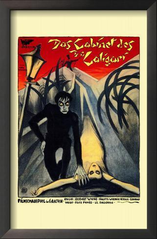 The Cabinet of Dr. Caligari Impressão artística emoldurada