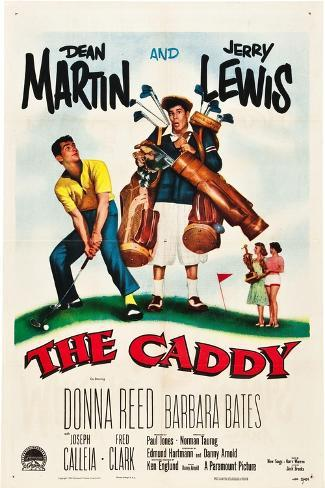 The Caddy, Dean Martin, Jerry Lewis, 1953 Stampa artistica