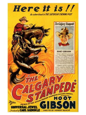 The Calgary Stampede Art Print