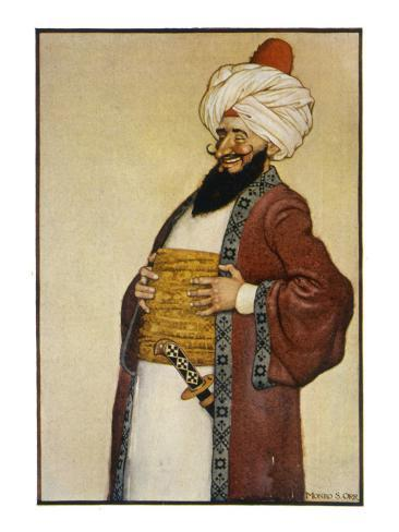 The Caliph Smiles Lámina giclée
