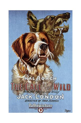 The Call of the Wild De Fredjackman 1923 Art Print