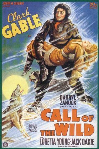 The Call of the Wild Impressão original